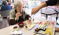 2月 節分・寿司パーティ