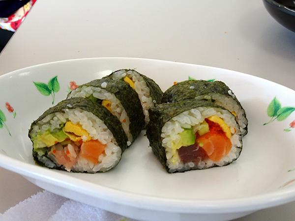 太巻き寿司!