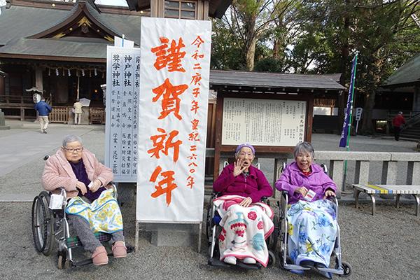 初詣に前鳥神社へ!