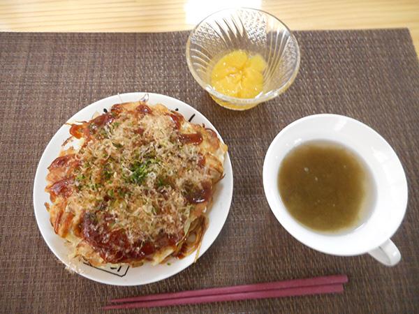 広島風お好み焼きを作りました。