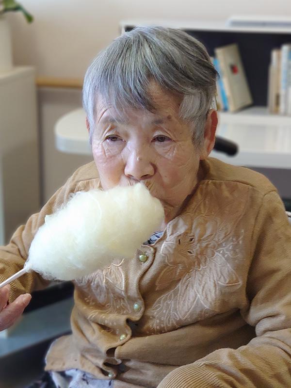 綿菓子食べませんか~♬